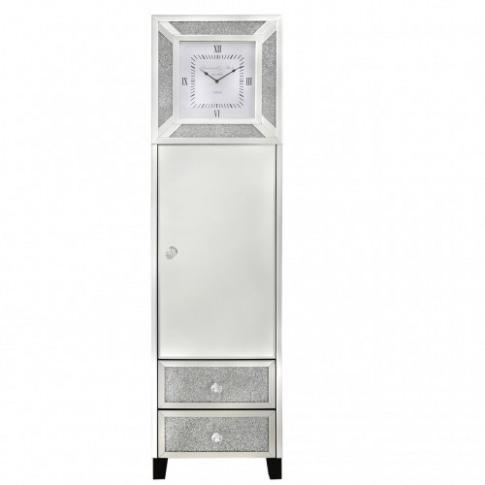 Massimo Mirror 2 Drawer 1 Door Grandfather Clock