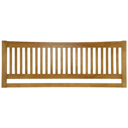Serene Mya 5ft Kingsize Honey Oak Wooden Headboard