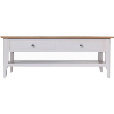Nalto Dove Grey Large Coffee Table