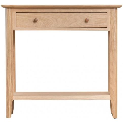 Nalto Light Oak Console Table