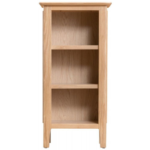 Nalto Light Oak Small Narrow Bookcase