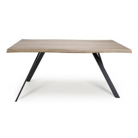 Narvik Oak Medium Curved Dining Table