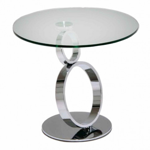 Fairmont Olympia Glass Side Table