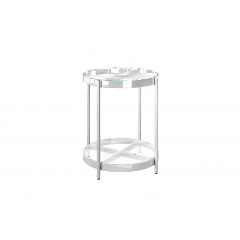Fairmont Omari Glass Side Table