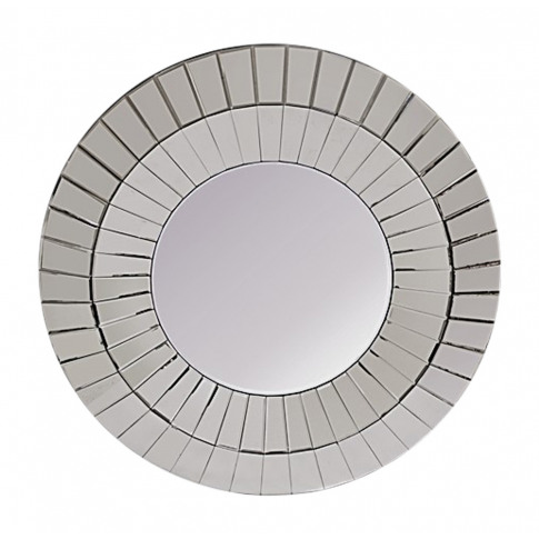 Fairmont Oyster Round Mirror (8b43) - 100cm Dia