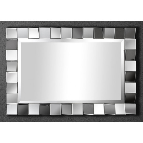 Fairmont Pixel 90 X 60cm Rectangle Mirror