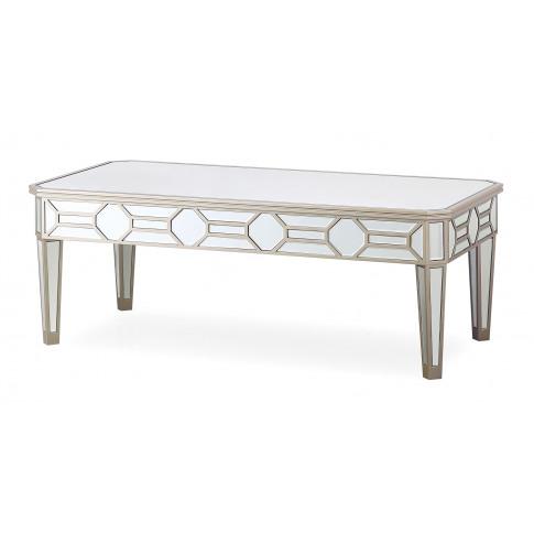 Rosa Silver Mirror Coffee Table