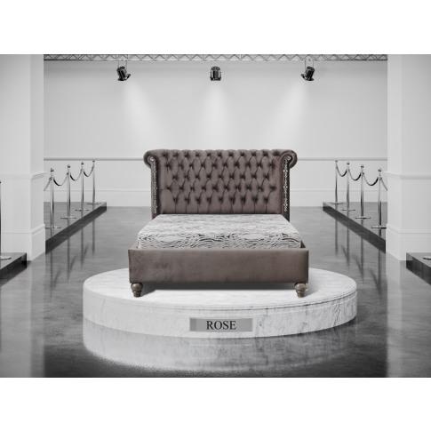 Oliver & Sons Rose 6ft Super Kingsize Fabric Bed