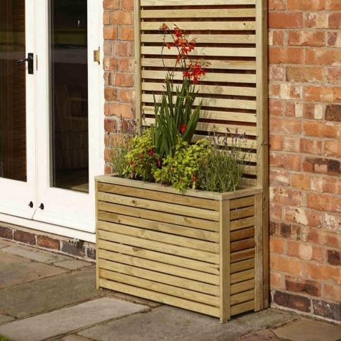 Rowlinson Garden Creations Tall Planter
