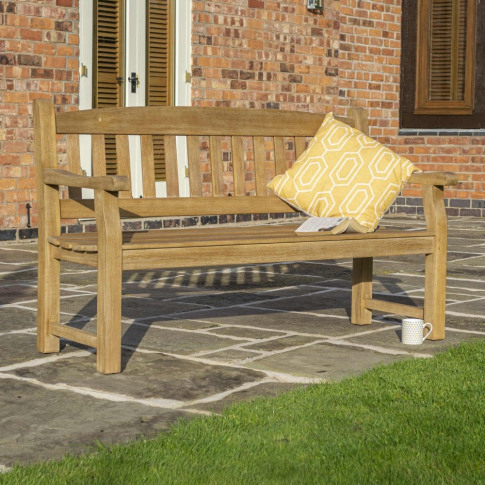 Rowlinson Tuscan 1.5m 5ft Wooden Bench