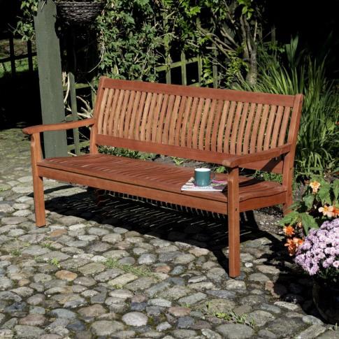 Rowlinson Willington 1.5m 5ft Wooden Bench