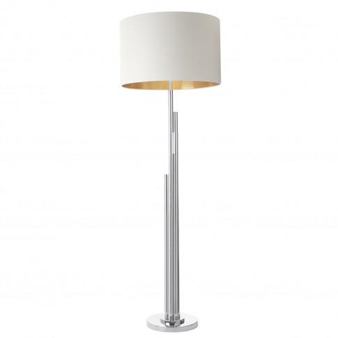Rv Astley Juke Brushed Nickel Floor Lamp
