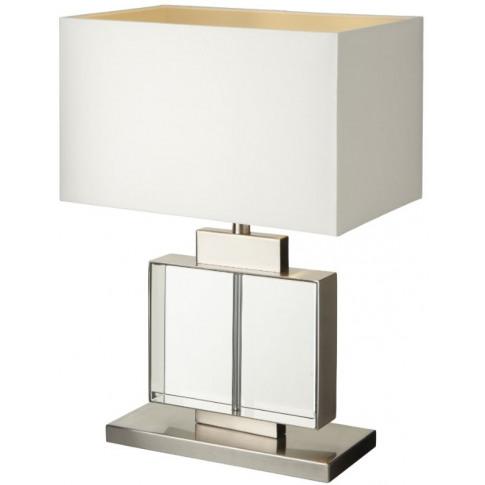 Rv Astley Ailbe Crystal Table Lamp