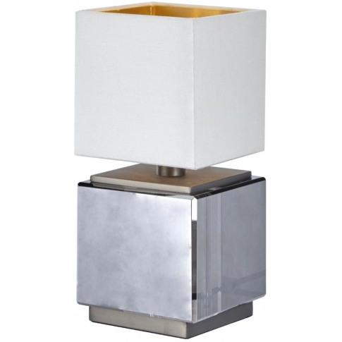 Rv Astley Ailis Smoke Crystal Table Lamp