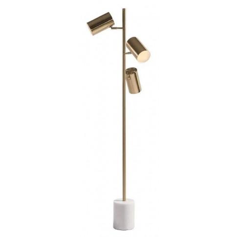 Rv Astley Alayna Brass Metal Floor Lamp