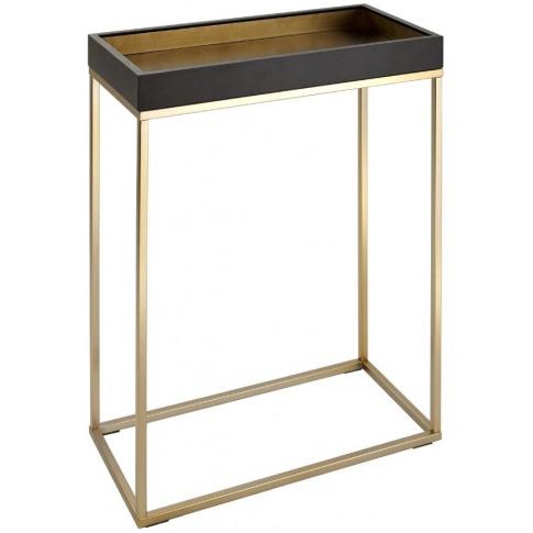Rv Astley Alyn Black Small Console Table