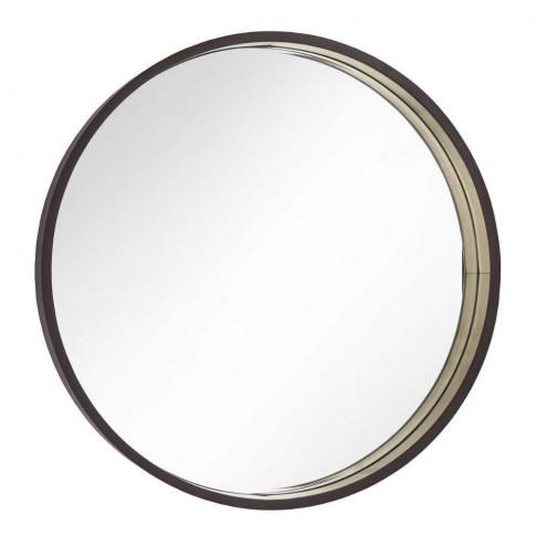 Rv Astley Alyn Chocolate 75cm Round Wall Mirror