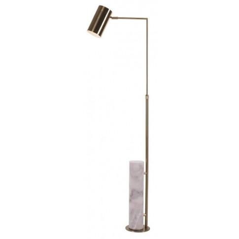 Rv Astley Blair Marble And Brass Floor Lamp