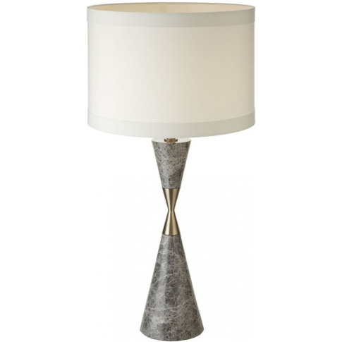 Rv Astley Caius Grey Marble Table Lamp
