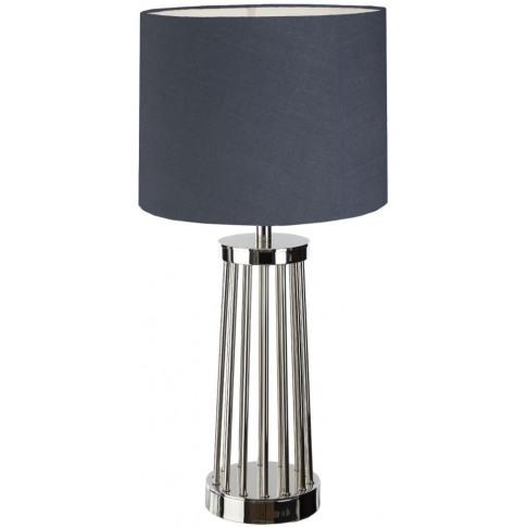 Rv Astley Carney Nickel Table Lamp
