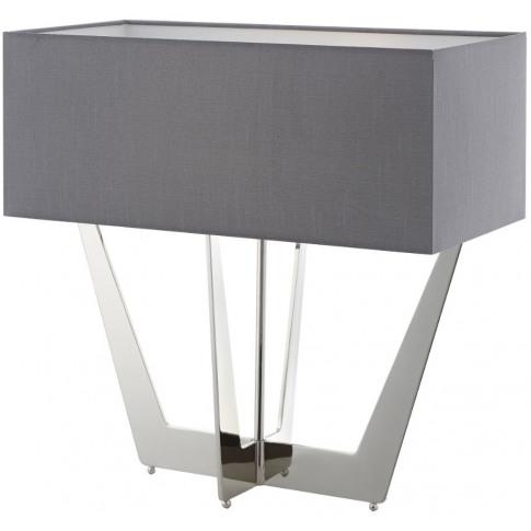 Rv Astley Carretto Nickel Table Lamp