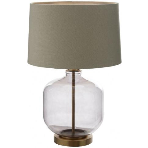 Rv Astley Catena Smoke Glass Table Lamp