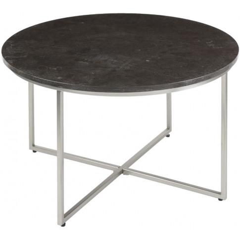 Rv Astley Daire Black Marble Coffee Table