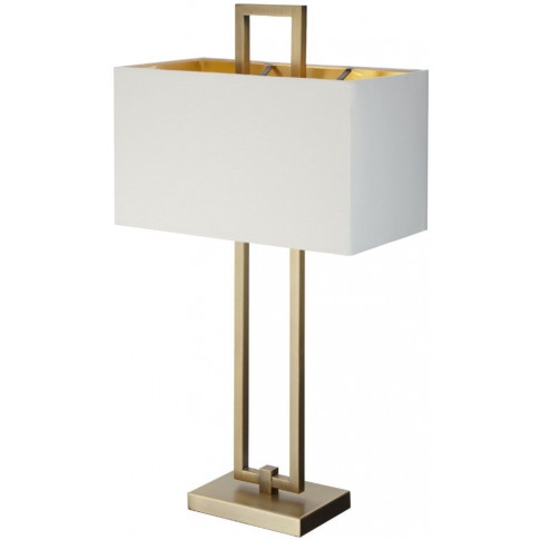 Rv Astley Danby Antique Brass Table Lamp