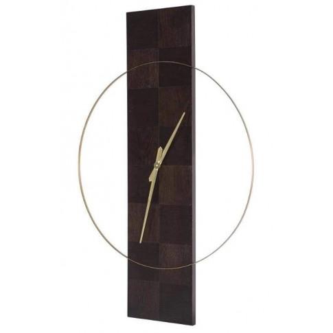 Rv Astley Desna Veneer Wall Clock