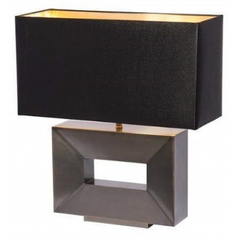 Rv Astley Duane Dark Antique Brass Table Lamp