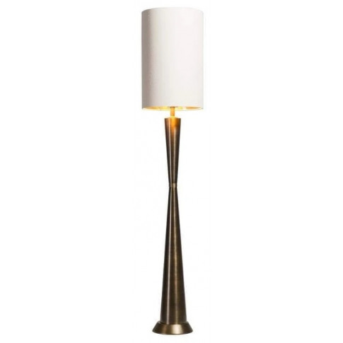 Rv Astley Eagan Dark Antique Brass Table Lamp