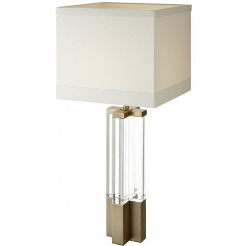 Rv Astley Eldmar Antique Crystal Table Lamp