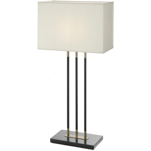 Rv Astley Emma Antique Brass Table Lamp