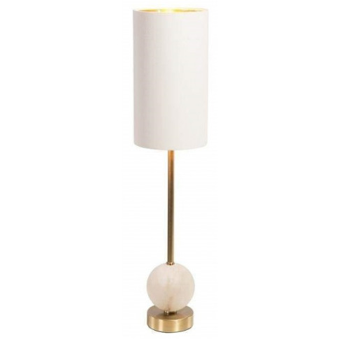 Rv Astley Geralt White Marble Table Lamp