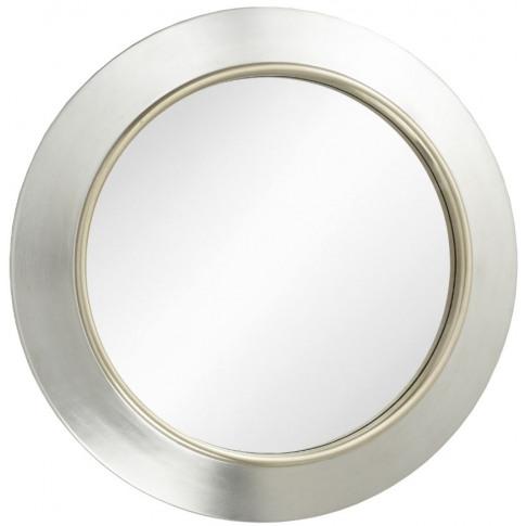Rv Astley Guido Silver Round Wall Mirror