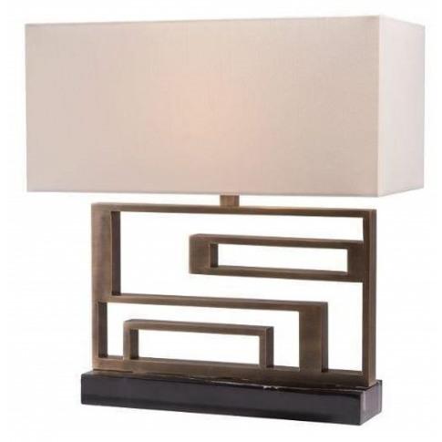 Rv Astley Kianna Antique Brass Table Lamp