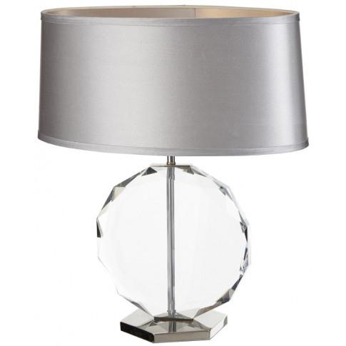 Rv Astley Libby Crystal Table Lamp