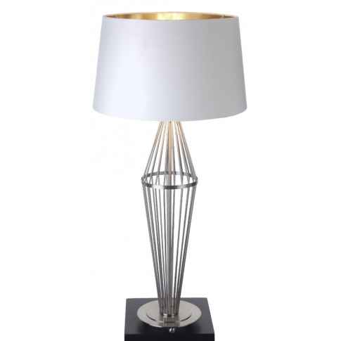 Rv Astley Macy Satin Nickel Wire Table Lamp (Base Only)