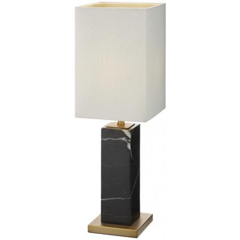 Rv Astley Micaela Black Marble Table Lamp