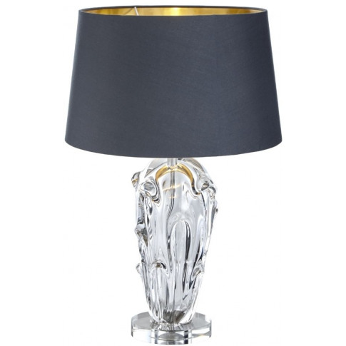 Rv Astley Nile Glass And Nickel Table Lamp (Base Only)