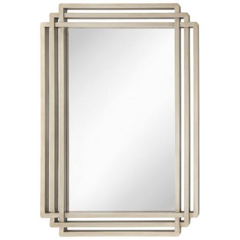Rv Astley Oswin Champagne Silver Wall Mirror