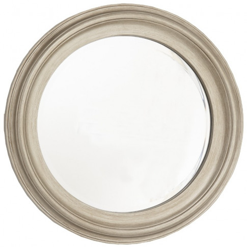 Rv Astley Shelton Champagne Silver Leaf Wall Mirror