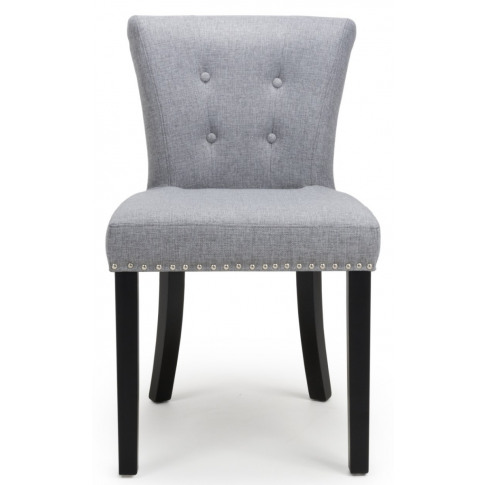 Sandringham Silver Grey Linen Effect Accent Chair