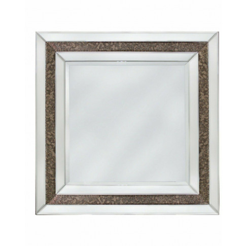 Savoy Antique And Clear Wall Mirror