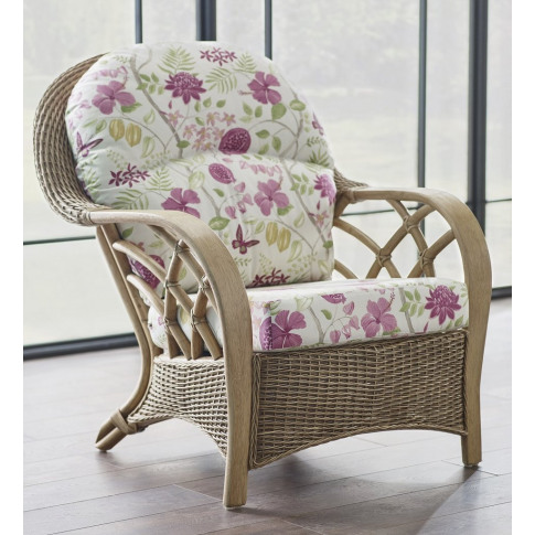 Cane Serena Armchair Without Wrap Cushion