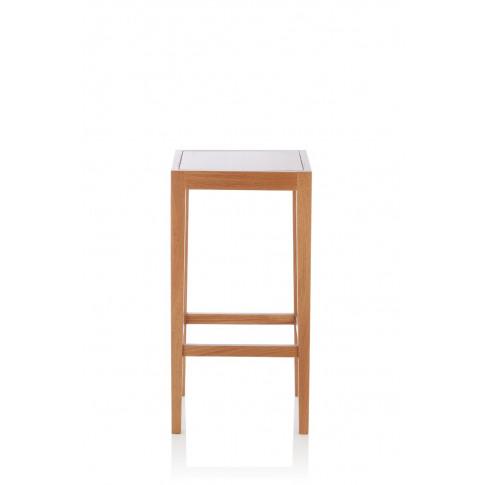 Boyd Oak Fixed Counter Height Barstool