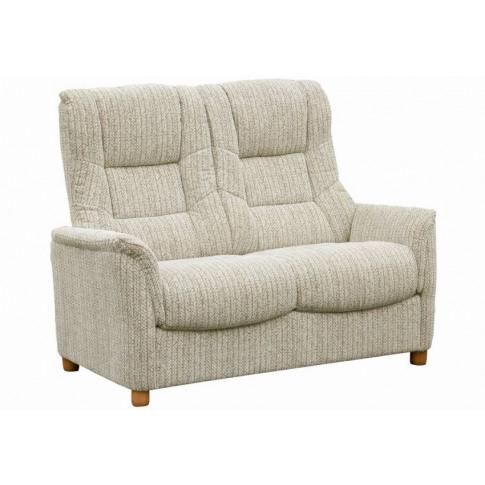 Shangri-La Wheat Fabric 2 Seater Sofa
