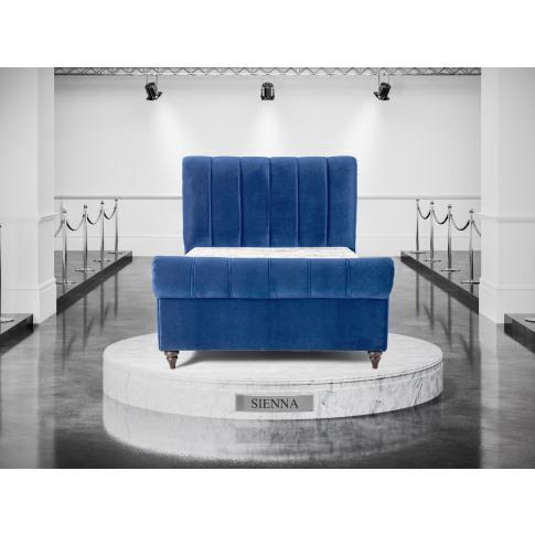 Oliver & Sons Sienna 6ft Super Kingsize Fabric Bed