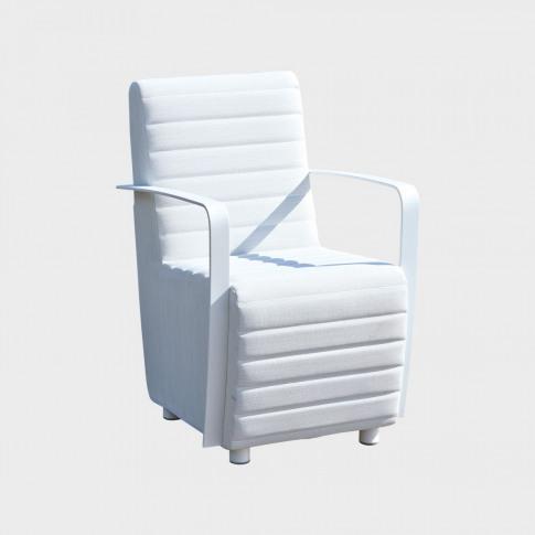 Skyline Axis Fabric Dining Armchair