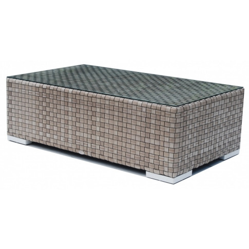 Skyline Brando Silver Walnut Rattan Coffee Table